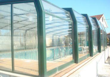 Construcción de cubiertas para piscinas en Ourense