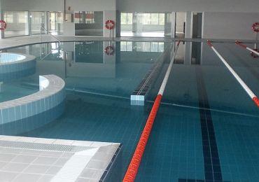 Obra de piscinas públicas en Ourense