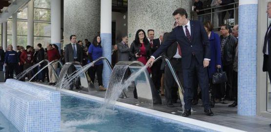 Inauguración del Balneario de Cortegada