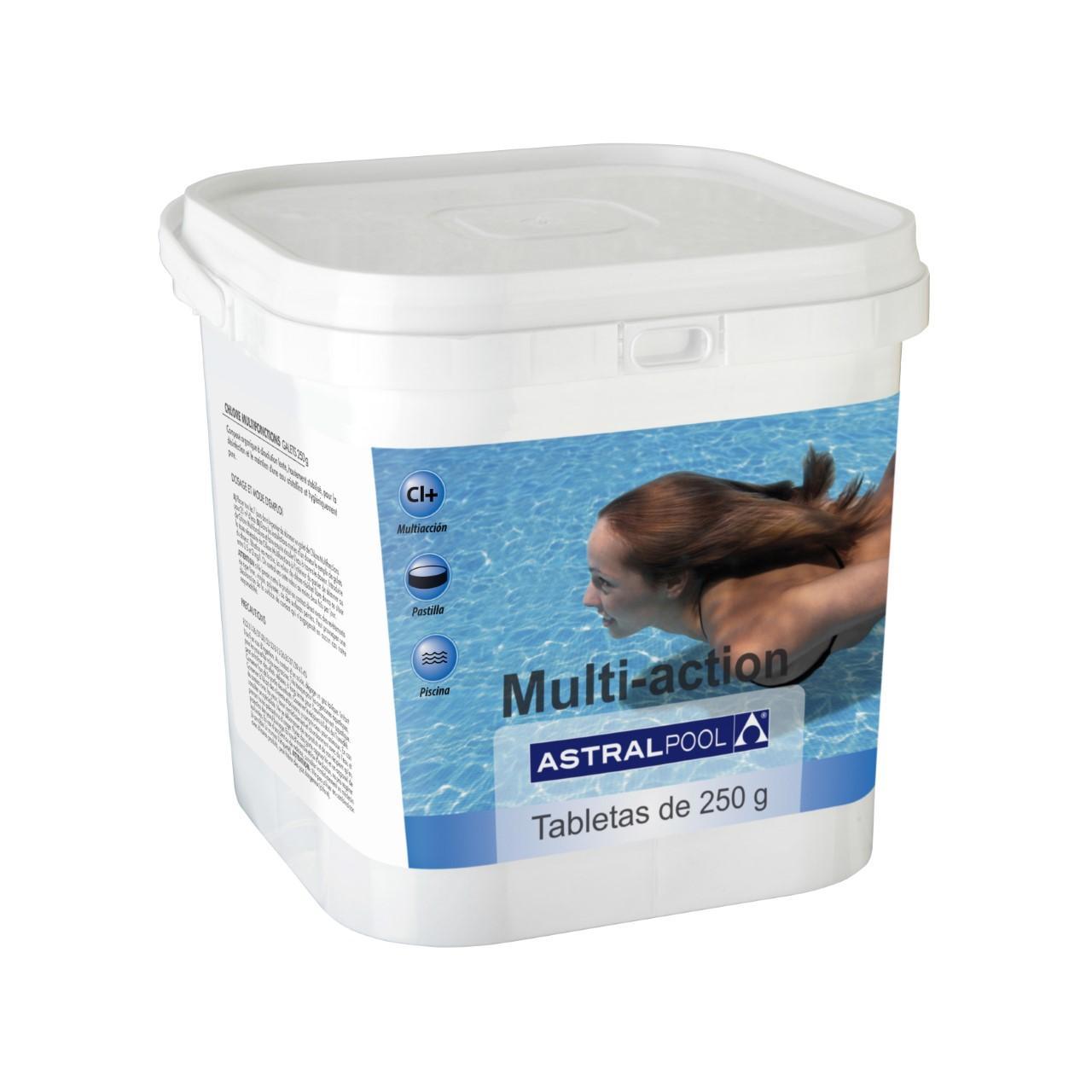 MULTIACCION PASTILLAS 250 GR ENVASE DE 5 Kg